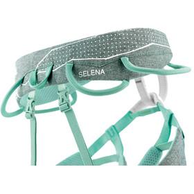 Petzl Selena Climbing Belt Women green mottled